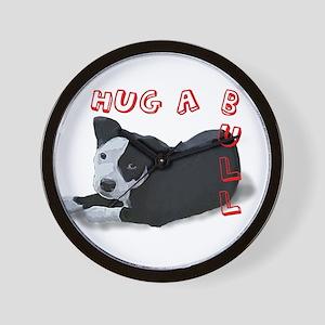 Hug-A-Bull Wall Clock