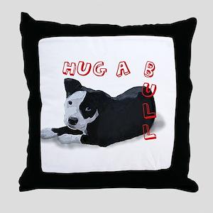 Hug-A-Bull Throw Pillow