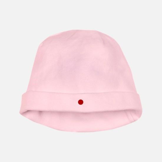Japanese Flag baby hat