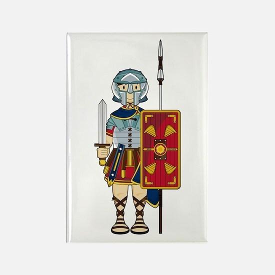 Ancient Roman Soldier Magnet