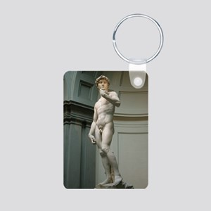 """The David"" Aluminum Photo Keychain"