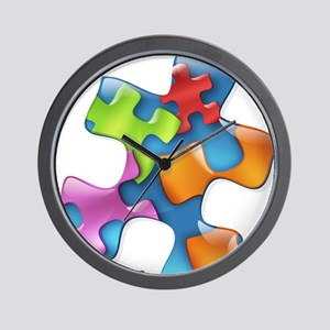 PuzzlesPuzzle (MC) Wall Clock
