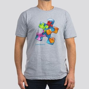 PuzzlesPuzzle (MC) Men's Fitted T-Shirt (dark)
