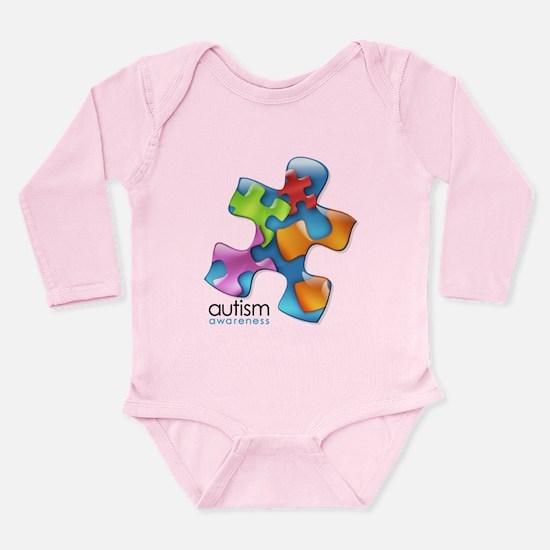 PuzzlesPuzzle (MC) Long Sleeve Infant Bodysuit