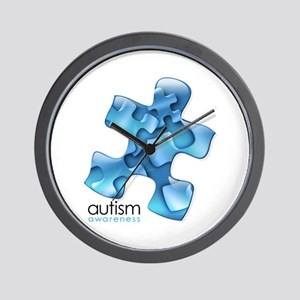 PuzzlesPuzzle (Blue) Wall Clock