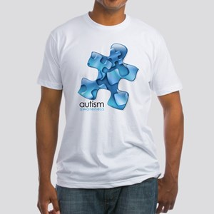 PuzzlesPuzzle (Blue) Fitted T-Shirt