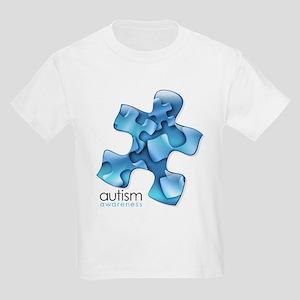 PuzzlesPuzzle (Blue) Kids Light T-Shirt