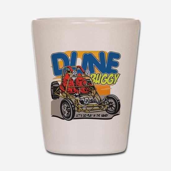 Dune Buggy Let's Go Play in the Sand Shot Glass