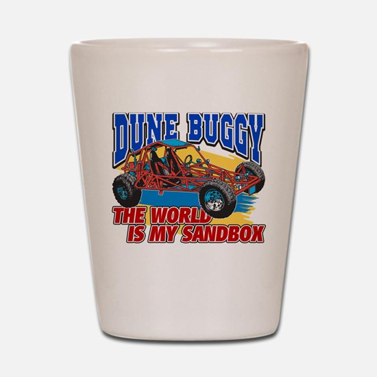 Dune Buggy Sandbox Shot Glass