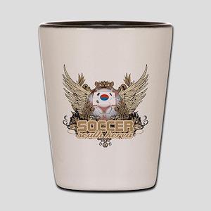 Soccer South Korea Shot Glass