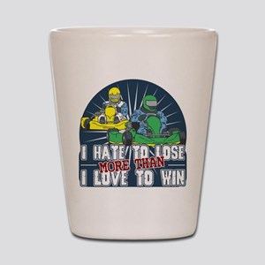 Hate to Lose Go Kart Shot Glass