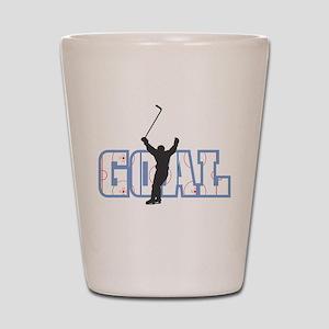 GOAL! Hockey Shot Glass