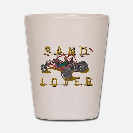 Sand Lover Dune Buggy Shot Glass