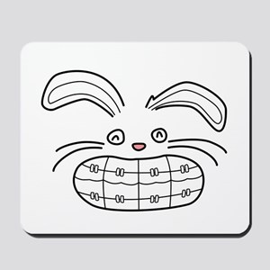 Bunny Brace Mousepad