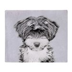 Tibetan Terrier Throw Blanket