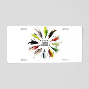 Deceivers Aluminum License Plate
