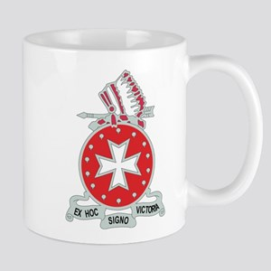 DUI - 1st Bn - 14th FA Regt with Text Mug