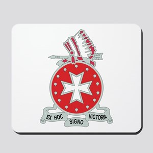 DUI - 1st Bn - 14th FA Regt with Text Mousepad