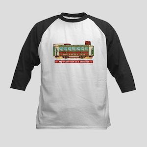 Trolley Car Kids Baseball Jersey