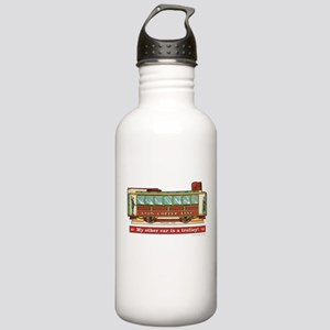 Trolley Car Stainless Water Bottle 1.0L