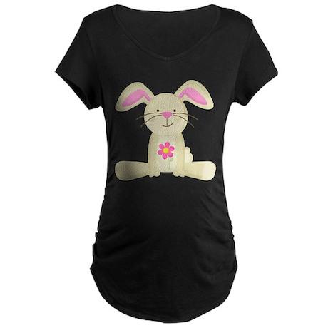 Cute Easter Bunny Maternity Holiday TShirt