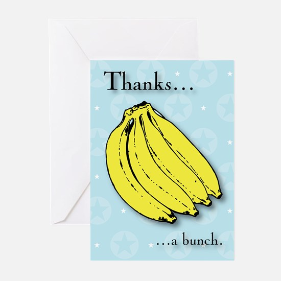 Thanks a bunch Pop Art Greeting Cards (Pk of 20)
