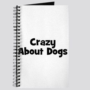 Crazy About Dogs Journal