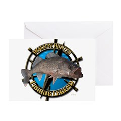 Fishing Legend Greeting Cards (Pk of 20)