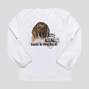 American Plott Hound Long Sleeve Infant T-Shirt