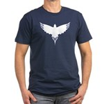 BirdTribes ShamanAngel Men's Fitted T-Shirt (dark)