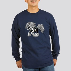 Gypsy Vanner Long Sleeve Dark T-Shirt
