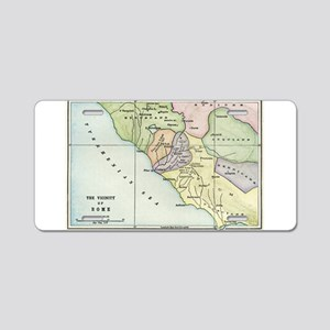Ancient Rome and Environs (co Aluminum License Pla