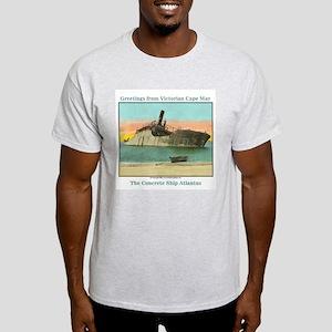 Concrete Ship Ash Grey T-Shirt