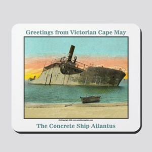 Concrete Ship Mousepad
