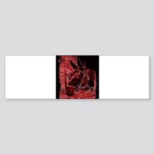 Red Mule Sticker (Bumper)