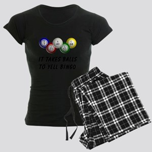 Balls to Bingo Women's Dark Pajamas