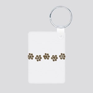 CHICO Aluminum Photo Keychain