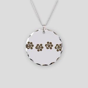 JAKE Necklace Circle Charm