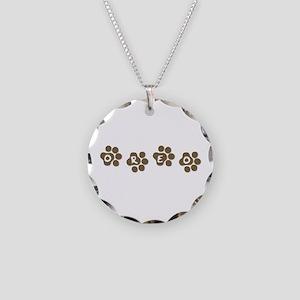 OREO Necklace Circle Charm
