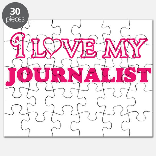 I love my Journalist Puzzle