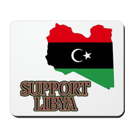 Support Libya 2011 Mousepad