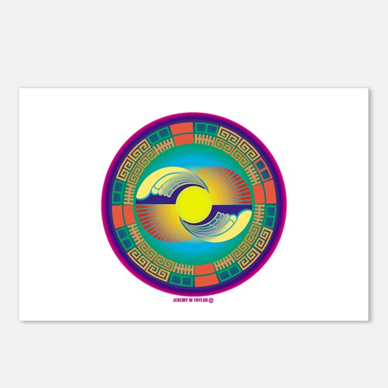 Mayan Crop Circle Postcards (Package of 8)