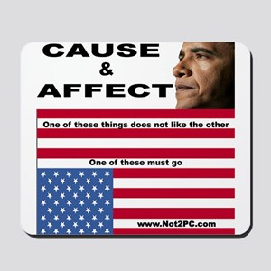 causeaffect Mousepad