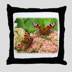 Peacock Butterfly 9A70D-18 Throw Pillow