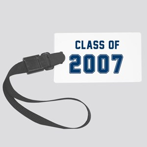 Class of 2007 Blue Luggage Tag