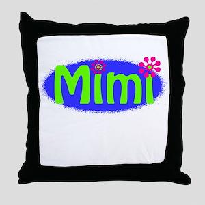 Bright Mimi Throw Pillow