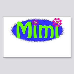 Bright Mimi Sticker (Rectangle)