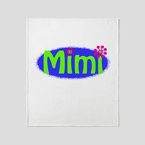 Bright Mimi Throw Blanket