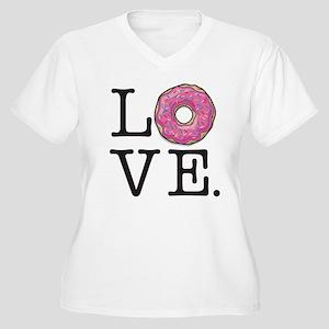 721c06f64d7 Donuts Women s Plus Size T-Shirts - CafePress