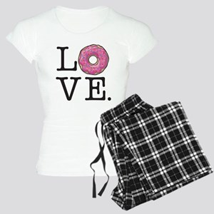 Donut Love Funny Food Humor Pajamas